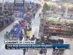 Saqueo en Walmart