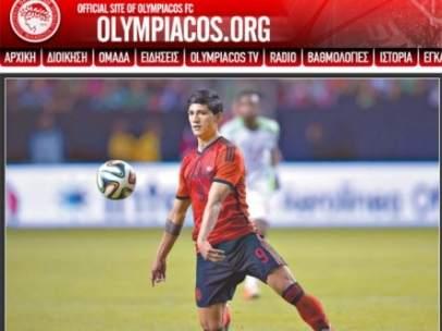 Sitio oficial del Olympiacos