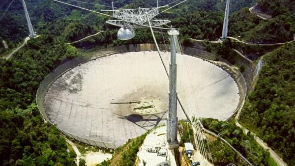 Radiotelescopio y observatorio de Arecibo (Puerto Rico)