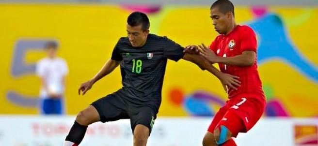 La selección de México Sub 22 contra Panamá