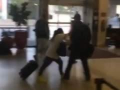 Video pleito Piojo-Martinoli