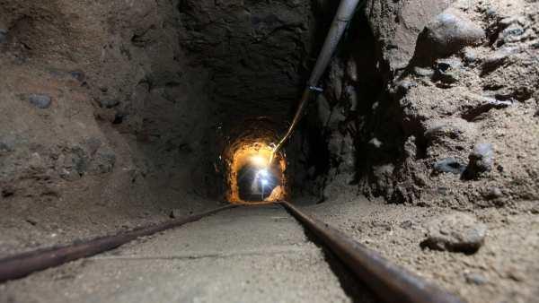 Túnel en Tijuana