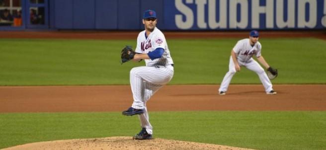 Matt Harvey, lanzador de los Mets de NY