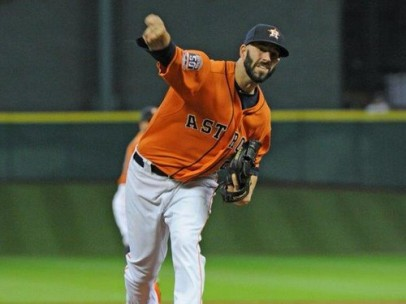 Mike Fiers de Astros de Houston