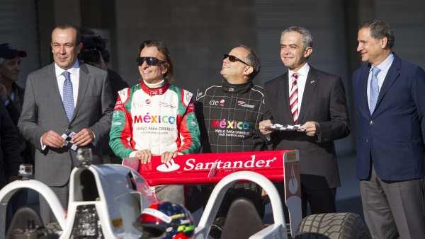 Reinauguración del Autódromo Hermanos Rodríguez
