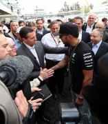 Peña Nieto y Lewis Hamilton