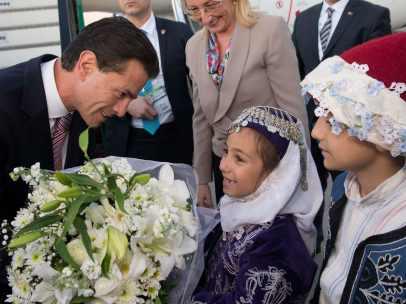 Peña Nieto llega a Turquía