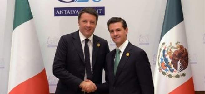 Peña Nieto y el primer ministro italiano