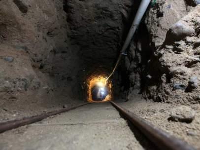 Autoridades de Estados Unidos descubren un túnel de 1 kilómetro desde Tijuana a California